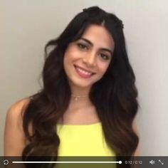 A special video from Emeraude Toubia on Twitter: She's excited to play Isabelle on #Shadowhunters