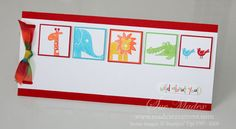 Bright Wild About You by aussiesue - Cards and Paper Crafts at Splitcoaststampers