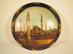 Hey, I found this really awesome Etsy listing at https://www.etsy.com/listing/216697169/copper-wall-hanging-plate-obelisk-of