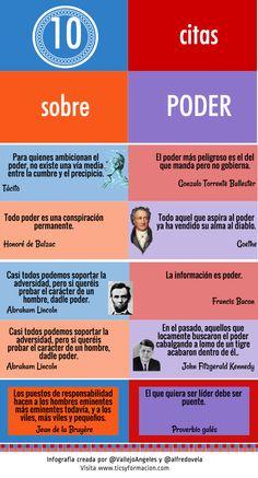 10 citas célebres sobre Poder