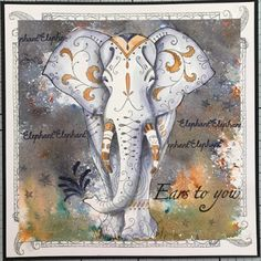QWELL Animal Elephant Clear Stamps for Scrapbooking and Card Making Paper Craft 2020 New Transparent Silicone on AliExpress Kanban Crafts, Lavinia Stamps, Cardmaking And Papercraft, Ink Stamps, Animal Cards, Penny Black, Graphic 45, Fabric Painting, Clear Stamps
