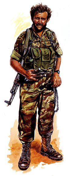 RECCES - SADF, Angola 1981, pin by Paolo Marzioli