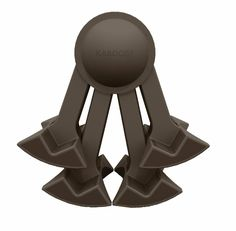 Chocolate - KABOOST Booster Seat - Goes Under the Chair