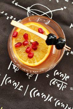 Winter Fruit Whiskey Smash - A BEAUTIFUL MESS