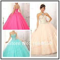 Hot Sale Pink Sweet 15 Dress Ball Gown Sweetheart Beaded Crystals Tulle Floor Length Quinceanera Dresses With Jacket I25-in Quinceanera Dres...