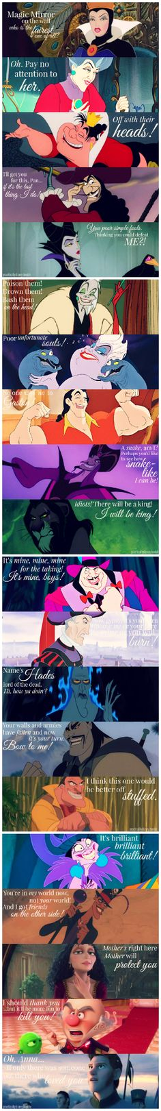 Hans.... I think out of all the Disney Villains he was one of the worst