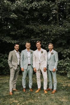 Romantic New England Forest Wedding at The Barn on Walnut Hill - wedding groomsmen Forest Wedding, Wedding Men, Dream Wedding, Best Man Outfit Wedding, Tuxes For Weddings, Barns For Weddings, Wedding Suits For Groom, Man Suit Wedding, Wedding Suits For Men