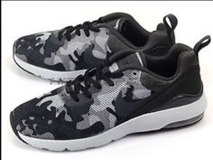 official photos b8c96 9d5d6 Nike Air Max Siren Print 749511-003 Womens Running Shoes Camo Black Grey  Size