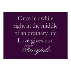 Love Quotes at Wedding | Purple Wedding Invitations with Love Quote | Weddings