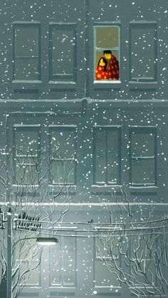 Pascal Campion... baby it's snowing outside...