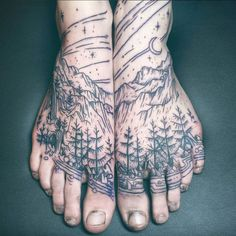 Into The Wicked World of Witch Tattoos