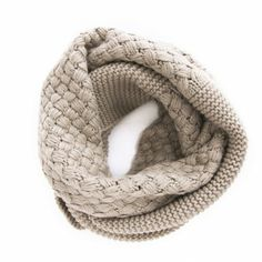 Mixed Knit Infinity Scarf - what a neat pattern. I wonder if I could pull it off...