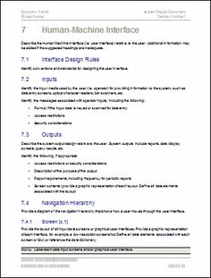 Design document template jessie pas project pinterest design document template pronofoot35fo Choice Image