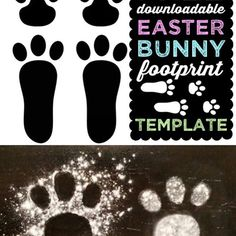 FREE Downloadable Easter Bunny 🐰 Footprints 👣 This post goes viral every year, since it's super fun for the kiddos! Check the link in bio! #easter #free #download #template #easterbunny #eastersunday #easterweekend #easteregghunt #viral #share