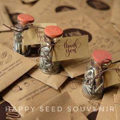 Bottle dan Paper Packs siap kirim!  Souvenir biji tidak hanya cocok untuk nikahan loh kak tapi juga untuk berbagai hajatan misal acara kantor. Contohnya paket hari ini nih. Kami kirim untuk ECC UGM. Biar lebih berkesan tamunya dikasih souvenir biji dari Happy Seed aja kak :D tanya-tanya atau order  WA: klik link di bio/ 081331344600  LINE: happyseedsouvenir / @sjf8265t  #souvenirpernikahan #souvenirunik #souvenirbiji #souvenirbenih  #souvenirnikah #gogreen #souvenirjogja #bridestory #jogja…