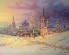 Russian expanses: Beauteous painting by the artist Sergey Panin - 13