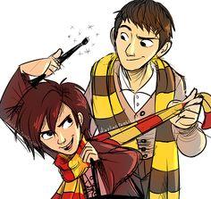 Big Hero 6 au - Harry Potter