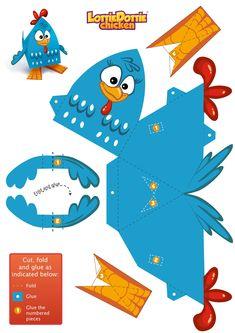Paper toys - Lottie Dottie Chicken Official Website