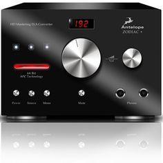 Antelope DAC Zodiac+ Mastering Black - HiFi Square Home Cinema Systems, Tape Recorder, Home Cinemas, Digital Audio, Audio System, Zodiac, Black, Gadget, Electronics