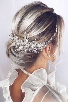 Twisted Blonde Styles Updos #updo ❤️ Bridesmaid hair styles are big in number, and it is not that easy to make a choice. See our photo gallery that features the most amazing hairstyles. ❤️ #lovehairstyles #hair #hairstyles #haircuts
