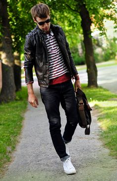 The well-dressed badass.