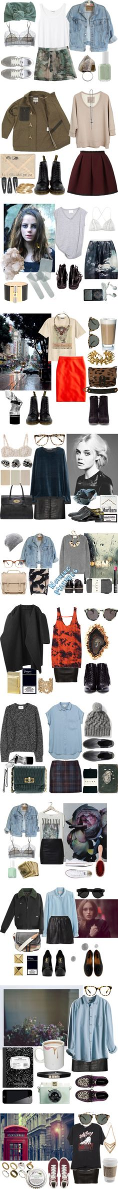 """Skirts"" by kelly-m-o on Polyvore"