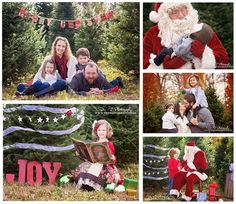 Christmas mini sessions available November 2015! Holiday mini sessions with Santa at a Christmas tree farm. Dr. Z Photography, Youngstown, Ohio