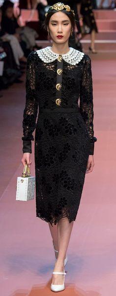 Dolce & Gabbana Autumn Fall Winter 2015-16