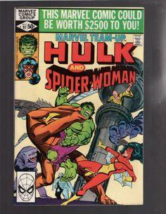 MARVEL TEAM-UP #97 HULK, SPIDER-WOMAN, AVENGERS, MARVEL COMICS