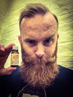 The Dapper Duke beard oils...great products, amazing scents