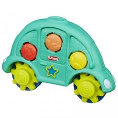 The Playskool Roll 'n Gears Car is a creative, compact toy that helps kids 1 and up develop motor skills.
