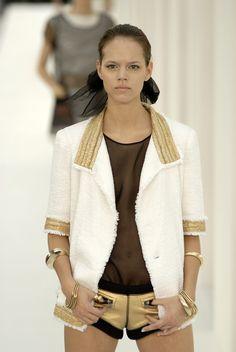 Freja Beha Erichsen at Chanel S/S 2007