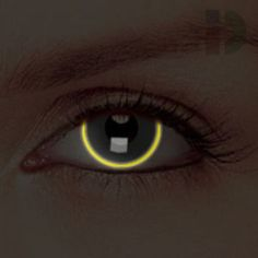 iD Lenses Eclipse Glow In The Dark Contacts