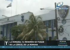 En La Romana Se Escaparon N 14 Menores De La Carcel