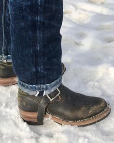 """Wiz on Instagram: """"Sorry the posts have been slow! Up here in the north we don't get a lot of sunlight hours during the winter so that means not a lot of time…"""" Biker Boots, Motorcycle Boots, Bottes Red Wing, Fashion Boots, Men's Fashion, Engineer Boots, Cool Boots, The Wiz, Shoe Collection"""