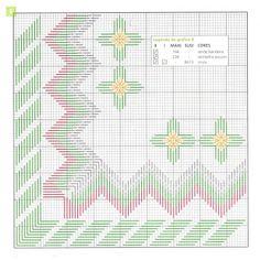 Gráficos em ponto reto para o natal...