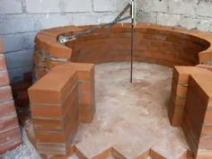 Costruzione forno a legna - Wood fired pizza oven construction - YouTube