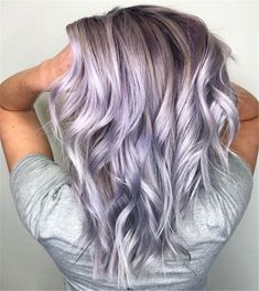 Colorful Dusty Lilac Hair London Lilac Hair Color Luxury Dusty Lavender Guy Tang Mydentity for Colorful Dusty Lilac Hair Grey Blonde, Blonde Color, Blonde Ombre, Blonde Balayage, Silver Lavender Hair, Pastel Lavender Hair, Short Lilac Hair, Pastel Ombre Hair, Silver Purple Hair