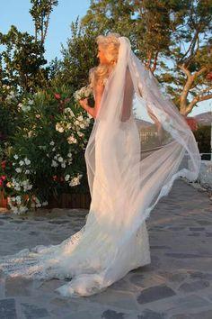 Mermaid wedding dress !