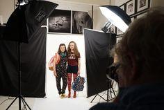#Shooting #photo pour la couverture des P'tites Sorcières N°188 #magazine #filles