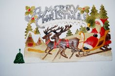 Vintage Victorian Christmas Decor by ChristmasVintage on Etsy, $22.00