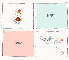 plant | grow