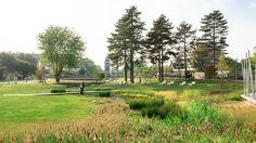 Waterside Quarter Park | Florence Mercier Paysagiste