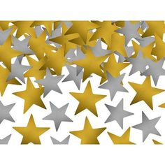 #Confetti #Stars, gold and silver, 7g, 1pack now avalable in our shop.  pressio.co.uk  #home #deco #decoration