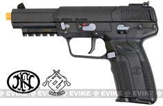 Pre-Order ETA April 2016 FN Herstal FN-57 Airsoft CO2 Gas Blowback Pistol by Marushin / Japan