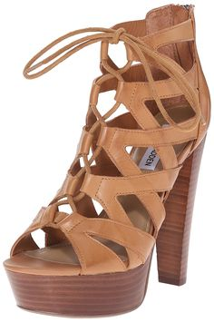 Steve Madden Women's DREAMGIRL Dress Sandal ** Hurry! Check out this great product : Lace up sandals