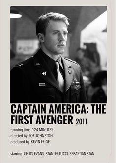 Captain America: The First Avenger polaroid poster