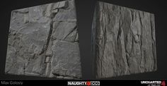 ArtStation - Uncharted 4 Substance Designer Rock Graph, Max Golosiy