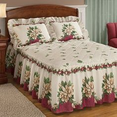 Shop Fresh Finds for affordable kitchen and home solutions, from unique decor and bedding to problem solvers! Browse Fresh Finds catalogs, and get the latest Fresh Finds promo codes. Ruffle Bedding, Bedding Sets, Bed Cover Design, Designer Bed Sheets, How To Dress A Bed, Christmas Bedroom, Bedroom Layouts, Sofa Covers, Table Linens