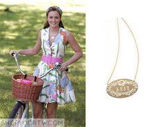 Gossip Girl: Season 2 Episode 1 Blair's Circle Necklace